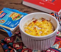 洋葱奶酪烤蛋#百吉福食尚达人#的做法