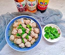 #中秋宴,名厨味#清香牛肉丸子汤的做法