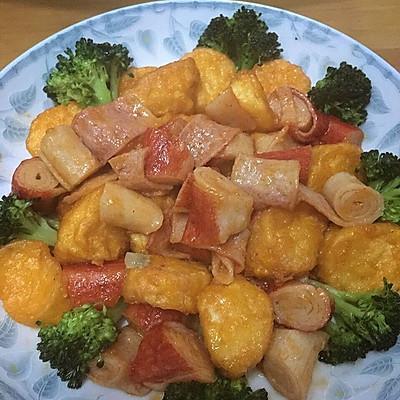 日本豆腐蟹柳煲