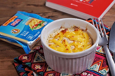 洋葱奶酪烤蛋#百吉福食尚达人#