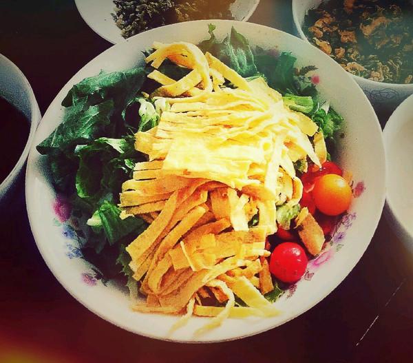 减脂蔬菜沙拉的做法