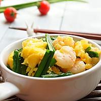 韭菜虾仁炒蛋的做法图解8