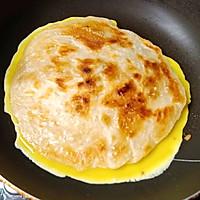 手抓饼 -- 营养又可消耗剩菜 #10分钟早餐大挑战#的做法图解6