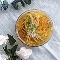 #花10分钟,做一道菜!#阳春面的做法图解5