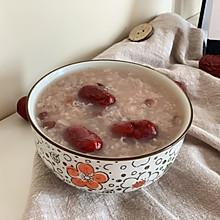 #人人能开小吃店#春天最适合吃的红豆糯米粥