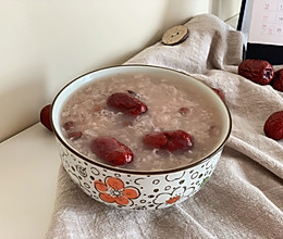 #人人能开小吃店#春天最适合吃的红豆糯米粥的做法
