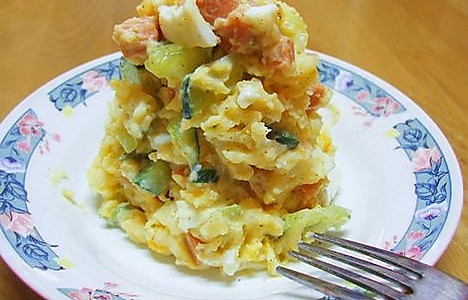 什锦土豆泥沙拉的做法