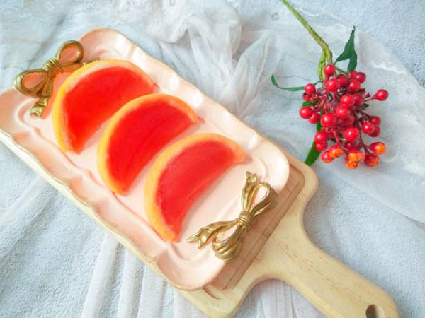 原汁原味的西柚果冻的做法