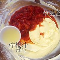 草莓轻乳酪蛋糕/轻芝士蛋糕的做法图解8
