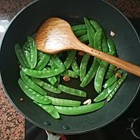腊肠炒荷兰豆的做法图解9