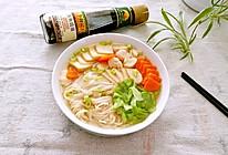 豉油汤面条#厨此之外,锦享美味#的做法