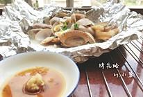 烤花蛤的做法