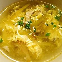 无油版榨菜肉丝汤