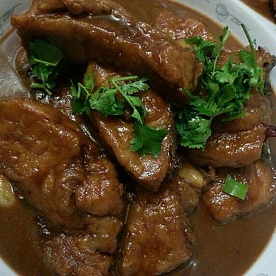 红烧鱼柳(酱汁瓦块鱼)