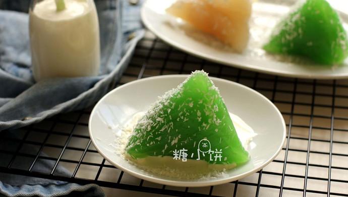【椰浆班兰西米粽】水晶粽子