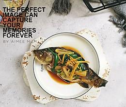 香嫩姜葱煎鲫鱼的做法