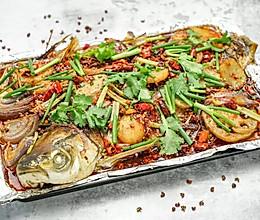香辣烤鱼的做法
