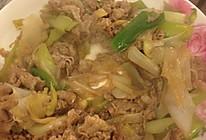 大葱炒羊肉的做法