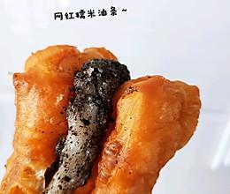 网红糯米油条的做法