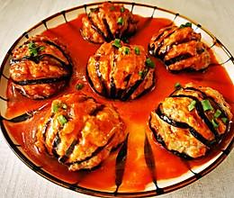 #福气年夜菜# 红红火火年夜菜 糖醋灯笼茄子的做法