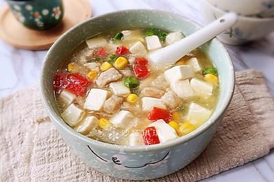 什锦豆腐羹