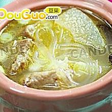 绿粉排骨汤