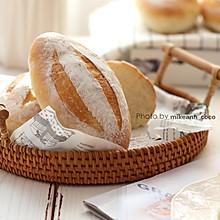 #快手又营养,我家的冬日必备菜品# 低脂又百搭【布里面包】