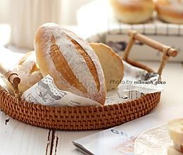 #快手又营养,我家的冬日必备菜品# 低脂又百搭【布里面包】的做法