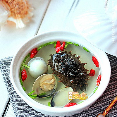 冬季来碗暖暖的养生滋补靓汤——PK酒店鲜美海参汤