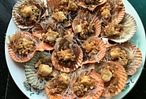 非常惹味、让人吃过返寻味的——蒜蓉粉丝蒸扇贝的做法