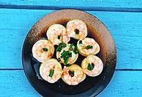 减肥餐 玉子虾仁的做法