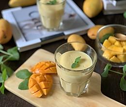 #我们约饭吧#孩子们夏季喝不够的饮品:芒果奶昔的做法