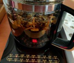 荷叶普洱瘦身茶的做法