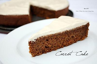 Carrot cake 胡萝卜蛋糕