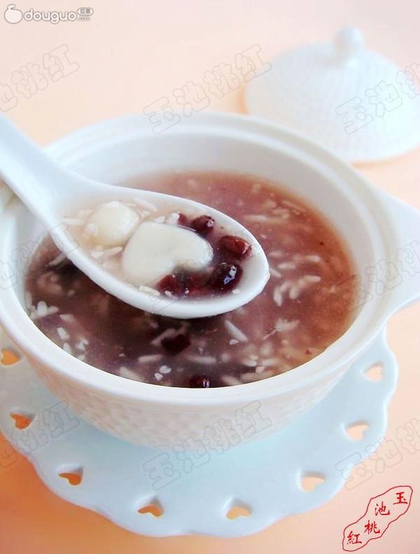 红豆米酒小汤圆的做法