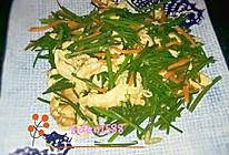 鸡蛋炒韭菜花的做法