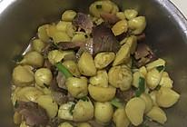 腊肉烧小土豆的做法