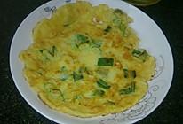 春葱鸡蛋面饼(记忆中春天的味道)的做法
