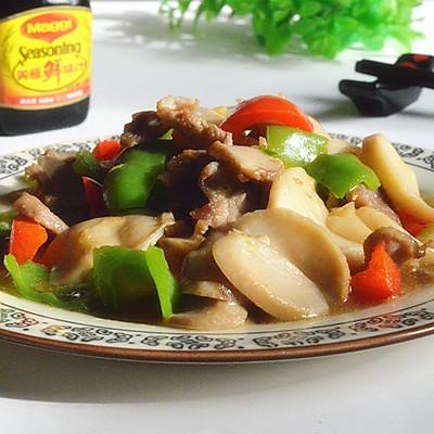 肉片烧杏鲍菇