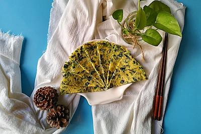 补铁食谱-菠菜煎饼