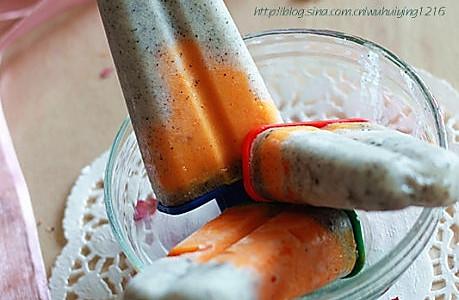 火龙果酸奶冰棍儿的做法