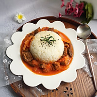 好吃到爆的番茄牛腩饭#优思明恋恋冬日,我要稳稳的爱#