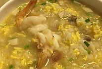 鲜虾泡饭的做法