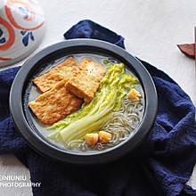 白菜粉条炖豆腐#百菜不如白菜#