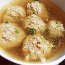 荸荠(马蹄)肉丸汤