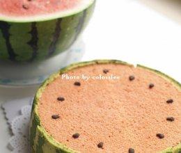 西瓜蛋糕~夏天来啦的做法