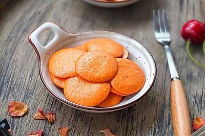 火龙果蛋黄溶豆