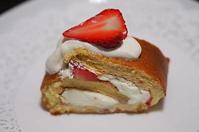 6步美食:一口解愁两口忘忧的草莓浮云卷