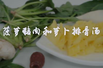菠萝猪肉&萝卜排骨汤