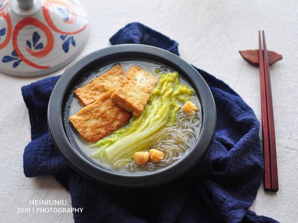 白菜粉条炖豆腐#百菜不如白菜#的做法